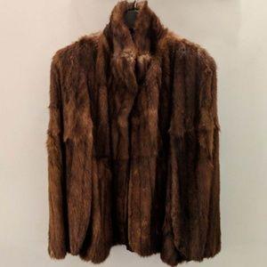 Bown genuine mink jacket